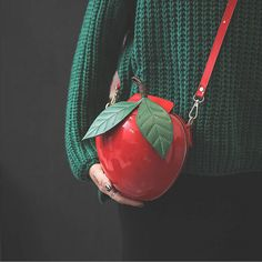 Women's Red Apple Evening Bag Party Wedding Clutch Purse Fruit Shoulder Handbag | Clothing, Shoes & Accessories, Women's Handbags & Bags, Handbags & Purses | eBay!