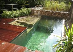 Yes, Eco-Friendly Backyard Pools Do Exist...  Installing a backyard pool doesn't have to be at odds with your eco-conscious lifestyle. The green marketplace is doing more to meet the demands of consumers who enjoy the luxuries of life but don't want to sacrifice the environment to get them. Even the swimming pool industry is creating increasingly responsible products that help offset a pool's environmental impact.