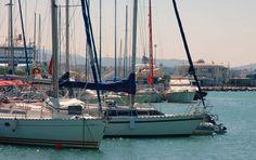 Patras Marina & Mega Yacht Marina - Information Planet Earth, Sailing Ships, San Francisco Skyline, Planets, Greece, Tourism, Patras, Boat, Travel