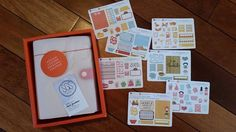 Eep! The #kikkik I won from @sgstationery arrived with #plannerstickers! Thanks so much Shuli!