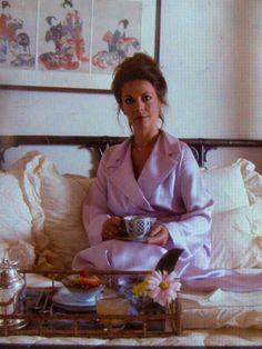 """Natalie Wood"""" Breakfast in bed ...."""