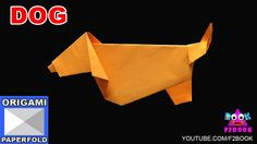 Origami Dog Folding Instructions || How to Make an Origami || F2BOOK Video 80