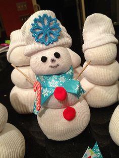 Sock Snowman!
