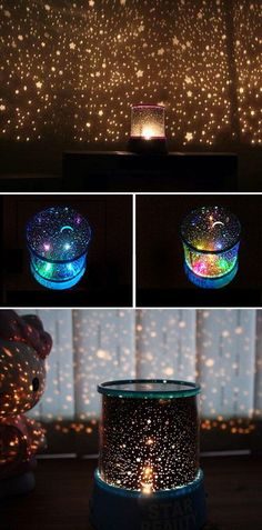 Starry night light projector Coltons should be here any day. Got it from Gearbes… Starry night light projector Coltons Starry Night Light, Starry Night Wedding, Wedding Night Room Decorations, Deco Pastel, Night Light Projector, Projector Lamp, Christmas Light Projector, Diy Lampe, Night Skies