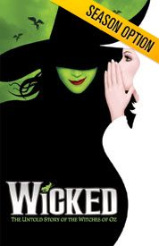 Wicked: Playing Summer 2014 in Salt Lake City
