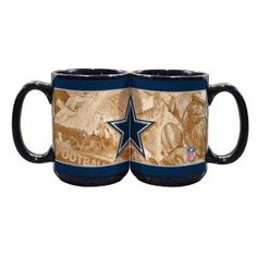 Dallas Cowboys 15oz. Nostalgic Mug