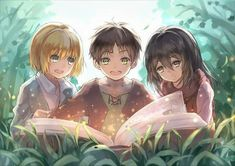Armin, Levi Y Mikasa, Attack On Titan Eren, Attack On Titan Fanart, Levi X Eren, Manga Anime, Film Anime, Fanarts Anime, Anime Characters