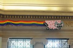 Nyan Cat in Lobby 7