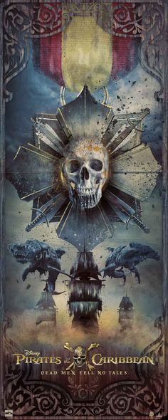 Pirates of the Caribbean: Dead Men Tell No Tales Poster – Poster Posse