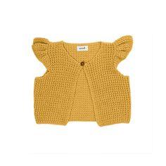 Mae Vest-Yellow - SALE