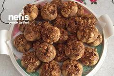 Pekmezli Atom Kurabiye Tarifi Turkish Recipes, Ethnic Recipes, Beautiful Cakes, Ham, Almond, Muffin, Food And Drink, Cookies, Breakfast
