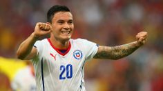 Charles Aranguiz scored the goal that sends Chile to the Round of 16 - Spain 0-2 Chile #worldcup