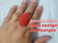 NM Bijoux - Anel de miçanguinha - YouTube
