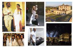 Kim Kardashian e Kanye West já se casaram em Florença! Olha a movimentação…