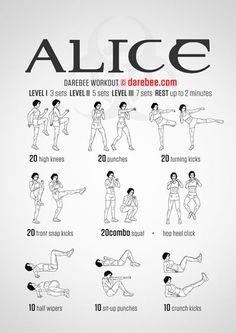 Alice Workout (Friday L1)