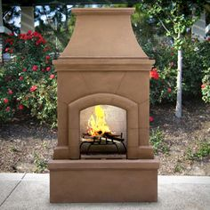 A Great Centerpiece For Any Patio Or Porch The Perfect Outdoor Fireplace Kit Http