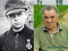 Alfred Czech was the youngest recipient of the Iron Cross. He was awarded the Iron Cross when he was 12 years old after saving the life of 10 comrades on the Oder front. Alfred Czech died on June 13, 2011 in Hückelhoven, Germany. https://nseuropa.wordpress.com/2013/10/18/the-story-of-the-hitler-youth-hero-alfred-czech/