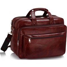 458b371c9d07a Women s   Men s Unisex Large Laptop Office Briefcase Burgundy