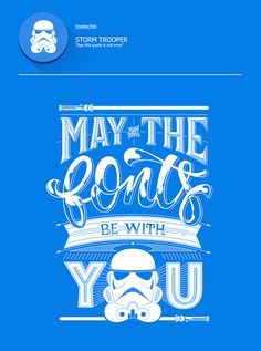 Witty Posters Make Fun Of Common Typography Mistakes Using 'Star Wars' Quotes - DesignTAXI.com