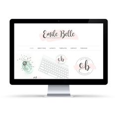 Make Your First Impression Count! Emily Belle is a feminine WordPress theme perfect for bloggers looking for simplicity but wants still wants something that will help create an exciting presence online for their personal blog or small business.