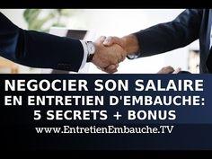 Négocier son salaire en entretien d'embauche : 5 secrets de négociation (+ bonus augmentation) - YouTube