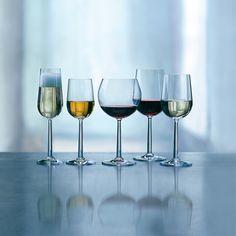 Fabryka Form - Kieliszek do białych win bordoskich Grand Cru 2 szt. Grand Cru, Modern Gentleman, Bordeaux, Wine Glass, Tableware, Interior, Room, Design, Champagne
