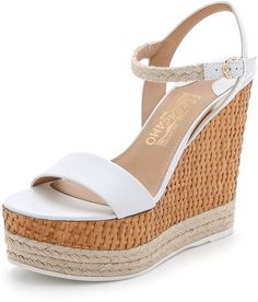 Salvatore Ferragamo Marlene Wedge Sandals