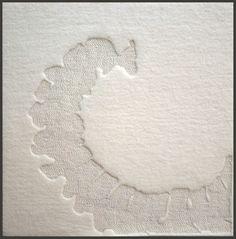 Rebecca Howdeshell Studio Art: Small Felt Artwork