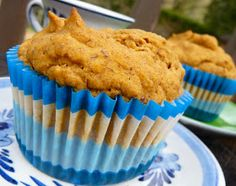 The Daily Dietribe: Pumpkin Spice Muffins: They're Gluten-Free, Vegan, and Stevia-Sweetened!