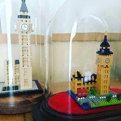"10 mentions J'aime, 2 commentaires - Pascal Van der Cruyssen (@pascalvdc) sur Instagram: ""#lego #legolondon #legobigben VS #nanoblockid #nanoblock #nanoblocklover #london #bigben…"""
