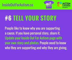 Our #InsideOut4Autism FUNdraiser runs until April 30th. Pick a day for your school or company to wear your shirt inside out for #autism awareness and acceptance. Make sure you register online: http://ift.tt/2m96Wdj