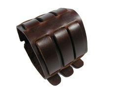 "2.6"" Wide Unisex's Brown Belt Style High Quality Genuine Leather Cuff Bracelet (LBCT4008) BrownBeans,http://www.amazon.com/dp/B00BDJYBUW/ref=cm_sw_r_pi_dp_60QIsb1MKQWZSP44"