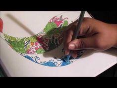 Let's Color: Lost Ocean - Johanna Basford #2