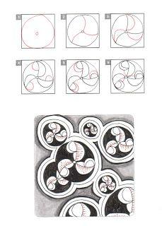 Tangle pattern