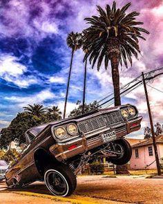 Impala 64, Chevrolet Impala, Chicano Love, Chicano Art, Chicano Drawings, 64 Impala Lowrider, Lowrider Trucks, Arte Lowrider, Lowrider Tattoo
