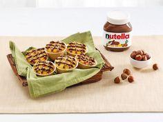 nutella-Muffins in 3 Geschmacksrichtungen