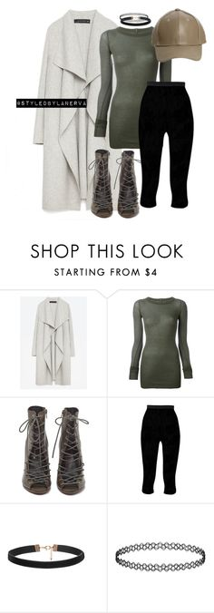 """""""Untitled #348"""" by amanda-lanerva ❤ liked on Polyvore featuring Zara, Rick Owens and Rebecca Minkoff"""