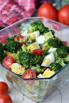 Vegetable Salad, Chicken Salad, Ham, Broccoli, Salads, Food And Drink, Snacks, Vegetables, Recipes