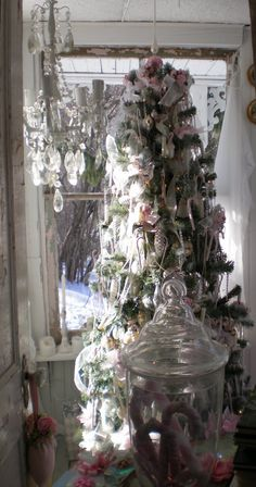 Christmas at my Shabby Chic Cottage!!!