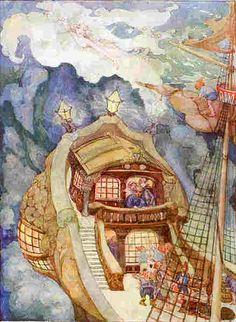 La sirenita, Hans Christian Andersen, cuento corto infantil,