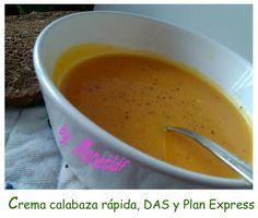 #planexpress #entulinea http://monetldf.blogspot.com.es/2014/02/crema-super-rapida-de-calabaza-para-das.html