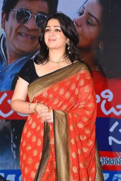 Indian Actress Charmi In Red Saree At Sakshi Excellence Awards Indian Film Actress, South Indian Actress, Indian Actresses, South Actress, Tamil Actress, Beautiful Arab Women, Beautiful Indian Actress, Indian Beauty Saree, Indian Sarees