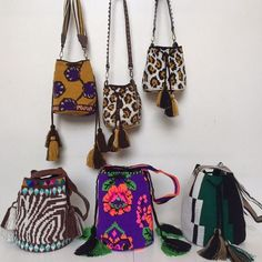 Wayuu Mochila bag animal print