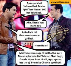 The #Salman Khan`s popularity - TrollTree Share Funny #kapilSharma Jokes - http://www.trolltree.com/