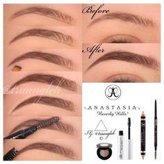 Eyebrow how-to