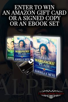 Win Signed Copies, eBooks or up to $15 in Amazon Gift Cards from USA Today Author Auriella Skye https://ilovevampirenovels.com/giveaways/win-signed-copies-author-auriella-skye/?lucky=442411