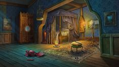 aunt's room by Vasilisa-boo on DeviantArt