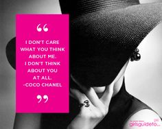 I don't care what you think about me; I don't think about you at all Pretty Words, Beautiful Words, Cool Words, Wise Words, Sign Quotes, Cute Quotes, Funny Quotes, Awesome Quotes, Qoutes