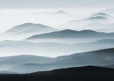 Fog landscape plakat 70x100cm kr 319,-