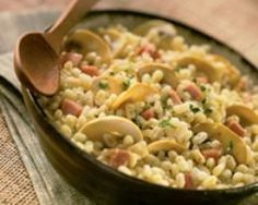 Poêlée d'ebly à la paysanne (facile, rapide) - Une recette CuisineAZ